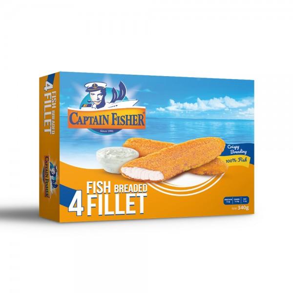 Captain Fisher Fish Breaded Fillet 522402-V001 by Captain Fisher