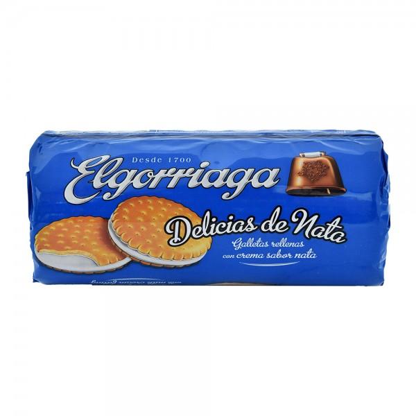 Elgorriaga Milk Cream Delicious Filled Biscuit - 150G 522453-V001 by Elgorriaga