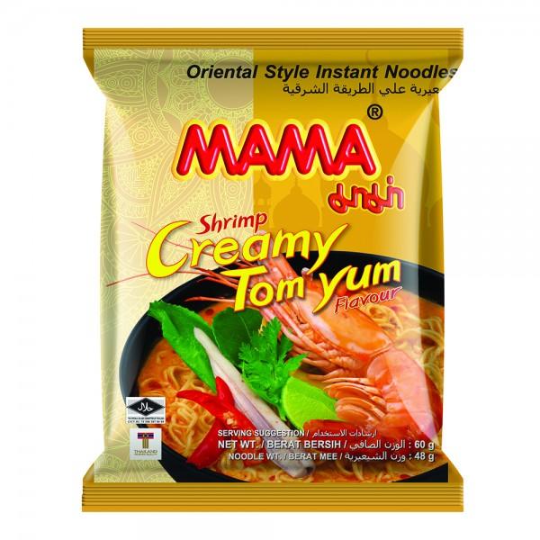 Mama Noodles Shrimp Creamy Tom Yum Flavour - 60G 522551-V001 by MAMA