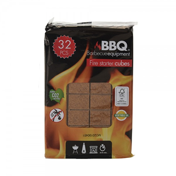 FIRE STARTERS WOOD 160G 522685-V001 by BBQ