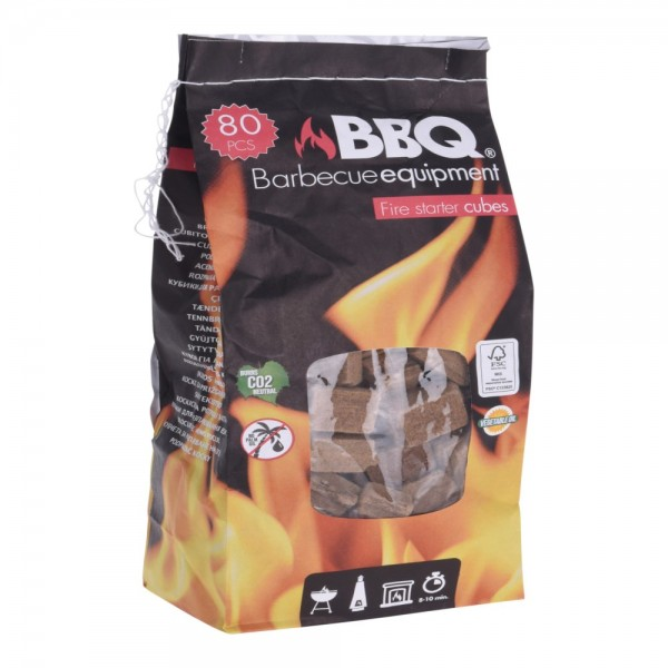 FIRE STARTERS WOOD 436G 522686-V001 by BBQ