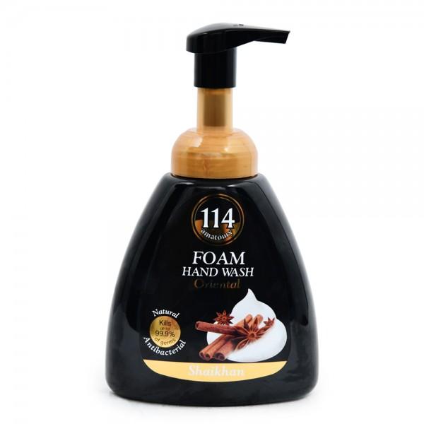 Amatoury 114 Mousse Hand Wash Oriental Shaikhan 400ml 522786-V001 by Amatoury 114