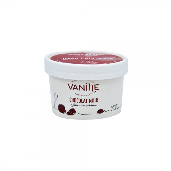 Vanille Dark Chocolate Ice Cream 100ml 522899-V001 by Vanille by Nicole Razzouk