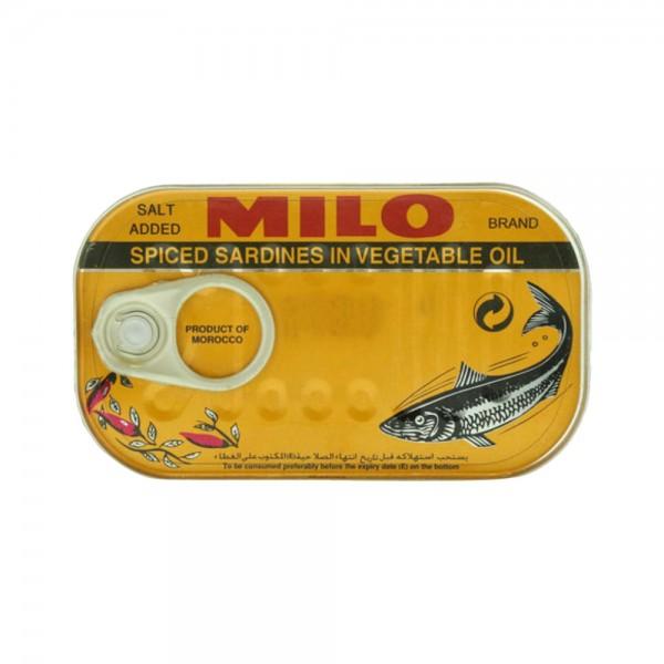 SPICED SARDINES IN VEG OIL 522909-V001 by MILO