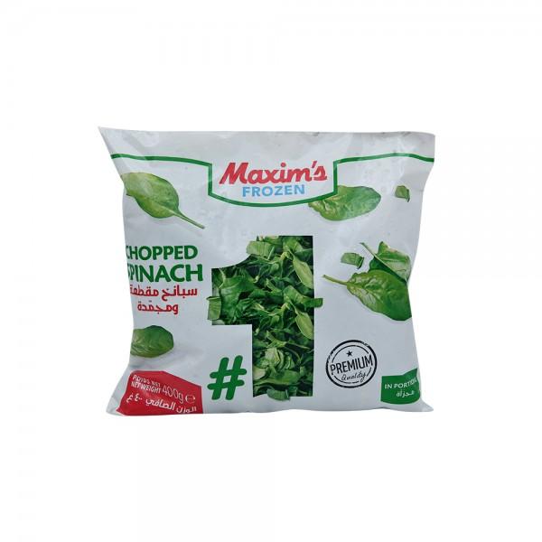 Maxim's Chopped Spinach Leaves 400g 522923-V001 by Maxim's