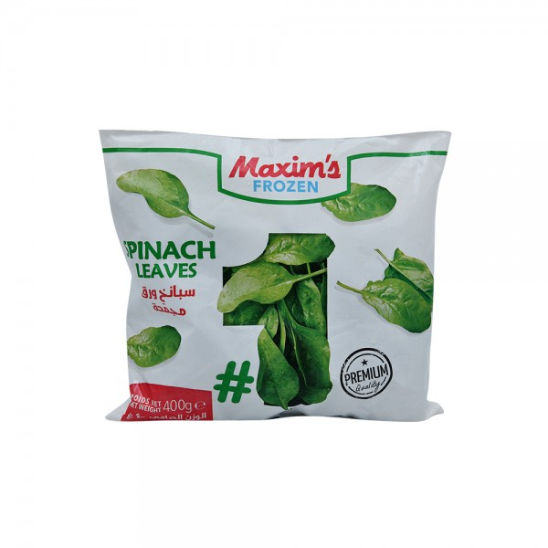 Maxim's Spinach Leaves 400g 522924-V001 by Maxim's