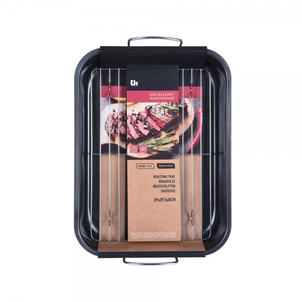 Eh  Roasting Tray With Grill - 39X39.5Cm 523117-V001 by EH Excellent Houseware