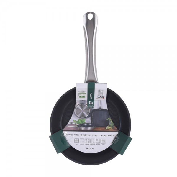 Eh  Frying Pan Silver Wave - 20Cm 523128-V001 by EH Excellent Houseware