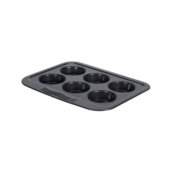 MUFFIN PAN WAVY 6 ROWS 523141-V001 by La Cucina
