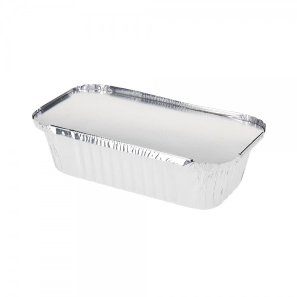 OVEN TRAY ALUMINUM WITH LID SET 20X11CM 523156-V001 by EH Excellent Houseware