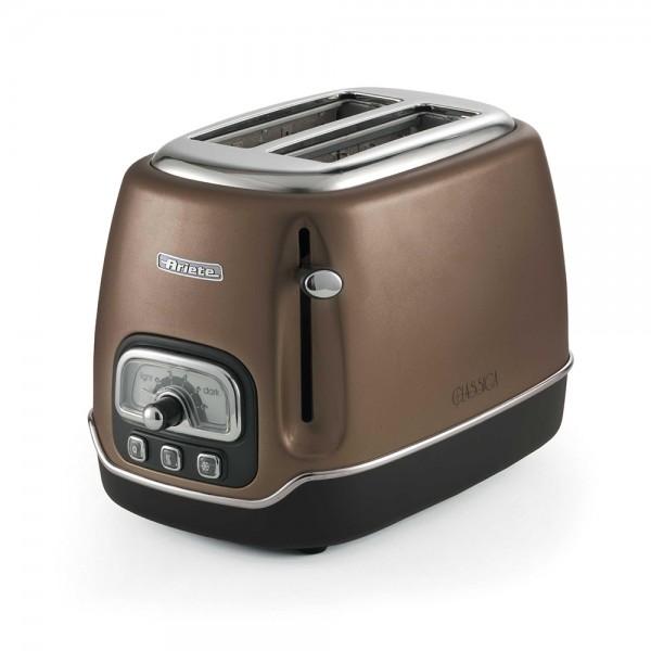 Ariete Classic Toaster 2Slices Vintage Bronze - 815W 523341-V001 by Ariete