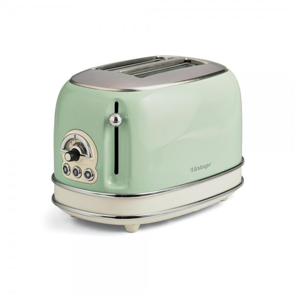 Ariete Vintage Toaster 2 Slices Beige - 815W 523347-V001 by Ariete