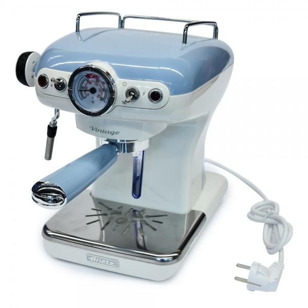 Ariete Vintage Espresso Machine Blue - 850W 523361-V001 by Ariete