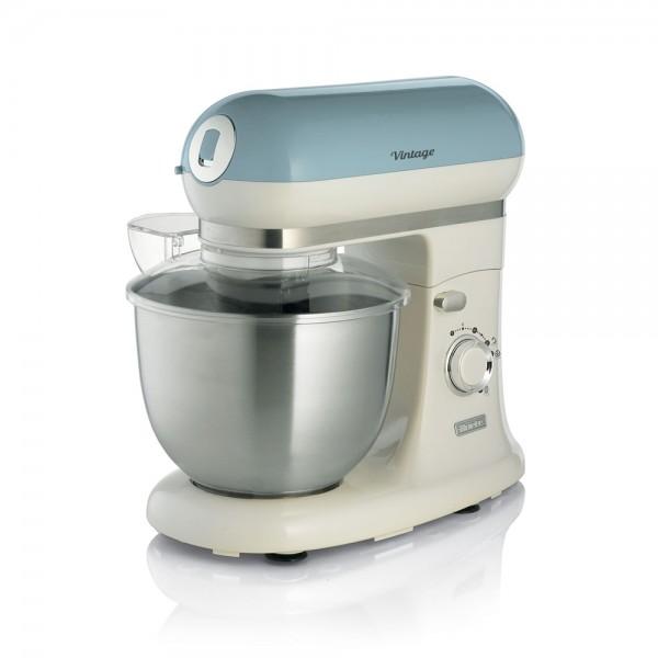 Ariete Vintage Kitchen Machine Blue 5.5L - 1200W 523364-V001 by Ariete