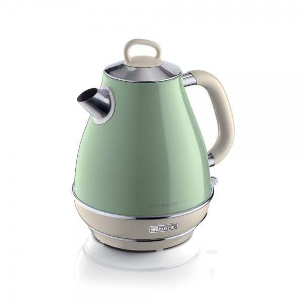 Ariete Vintage Kettle Green 1.7L 1 - 2200W 523366-V001 by Ariete