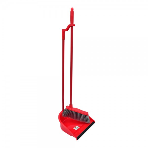 Cleando Dust Pan Hand And Broom - 1Pc 523420-V001 by Cleando