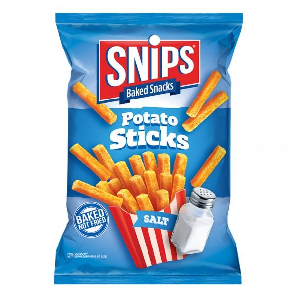 SNIPS Potato Sticks Salt 45G 523430-V001 by Snips Baked Snacks