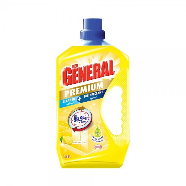 Dergeneral DisinfectantLemon - 1.5L 523489-V001 by Der General