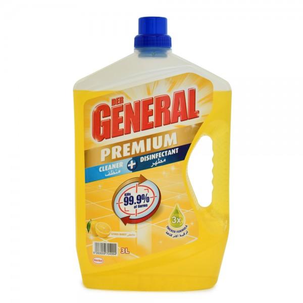 DER GENERAL Premium Cleaner + Disinfectant Citrus Burst 3L 523491-V001 by Der General