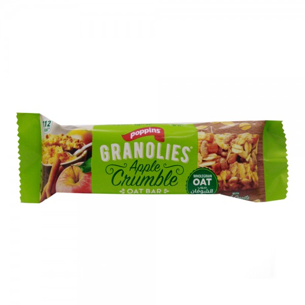 POPPINS OAT BAR APPLE CRUMBLE 523528-V001 by Poppins