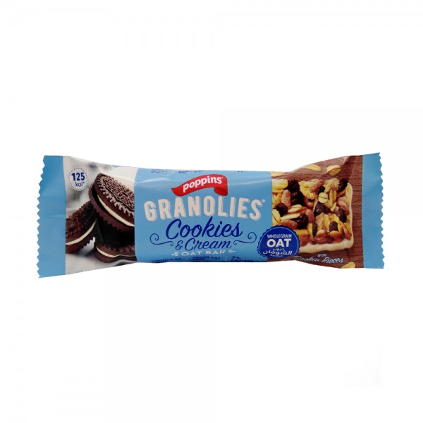 POPPINS OAT BAR COOKIE &CREAM 523530-V001 by Poppins