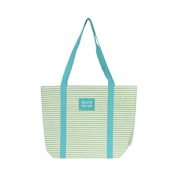 BEACH BAG COTTON ASSORTED CLR 523559-V001 by Home Collection