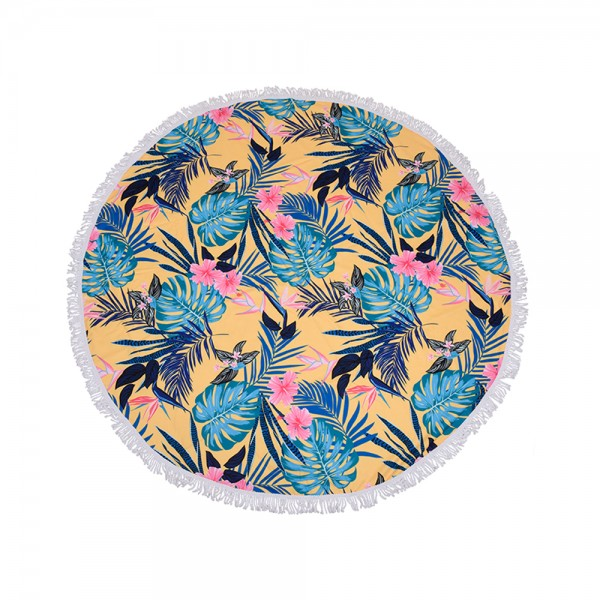 BEACH TOWEL ROUND ASSORTED 523561-V001 by Home Collection