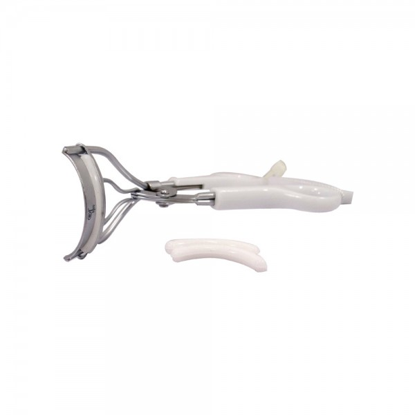 Or Bleu Precision Eyelash Curler With Refill Pads - 1Pc 523614-V001 by Or Bleu