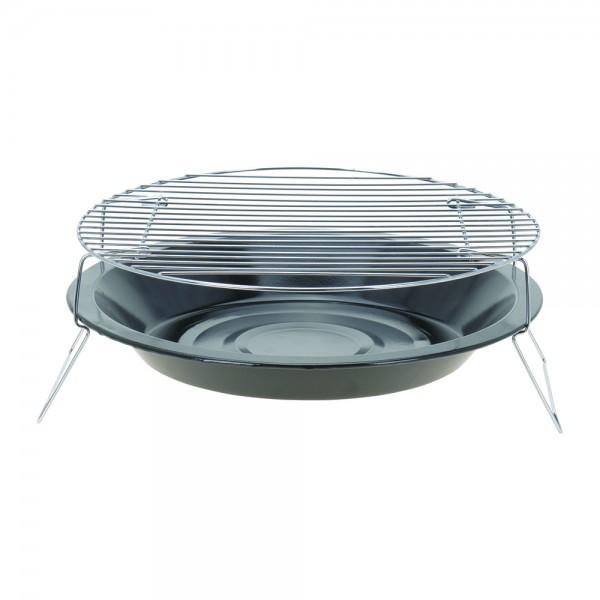 Bbq Charcoal Grill Metal Round H135Mm 523789-V001 by BBQ