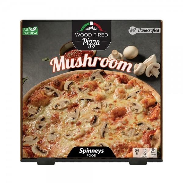 Wood Fired Mushroom Pizza 523862-V001 by Spinneys Food