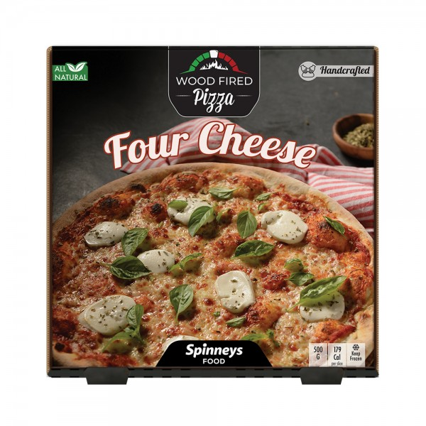 Wood Fired Four Cheese Pizza 523864-V001 by Spinneys Food