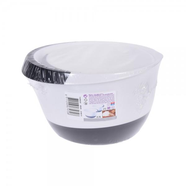 Eh  Mixing Bowl Plastic Set 3.5L+2L - 2Pc 523874-V001 by EH Excellent Houseware
