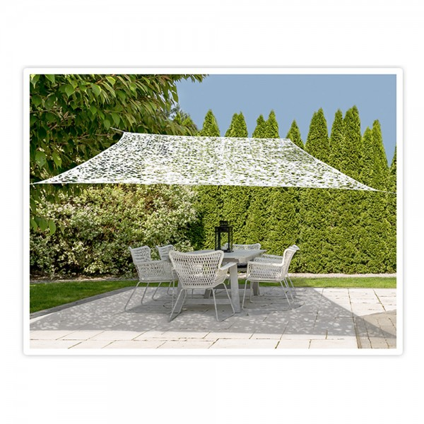 Ambiance Shade Cloth Camouflage White - 2X3M 523948-V001 by Ambiance