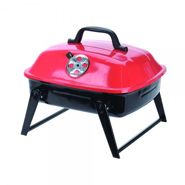 Bbq Portable Red Black 523956-V001 by BBQ