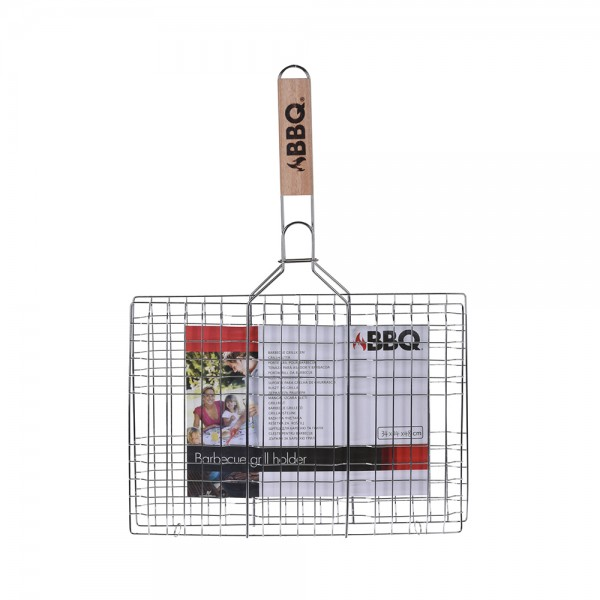 BBQ GRILL RACK WOODEN HANDLE 523962-V001 by BBQ