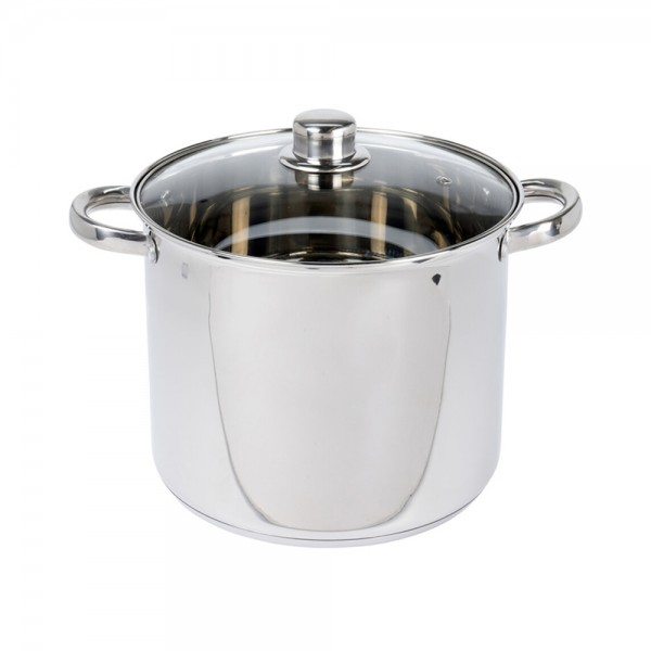 COOKING POT STAINLESS STEEL 9LTR 524017-V001 by EH Excellent Houseware
