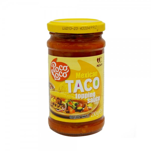 MEDIUM TACO SAUCE 524127-V001 by Poco Loco
