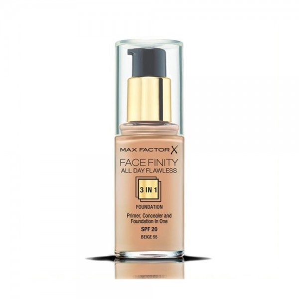 Max Factor New Foundation Facefinity N55 - 1Pc 524359-V001 by Max Factor