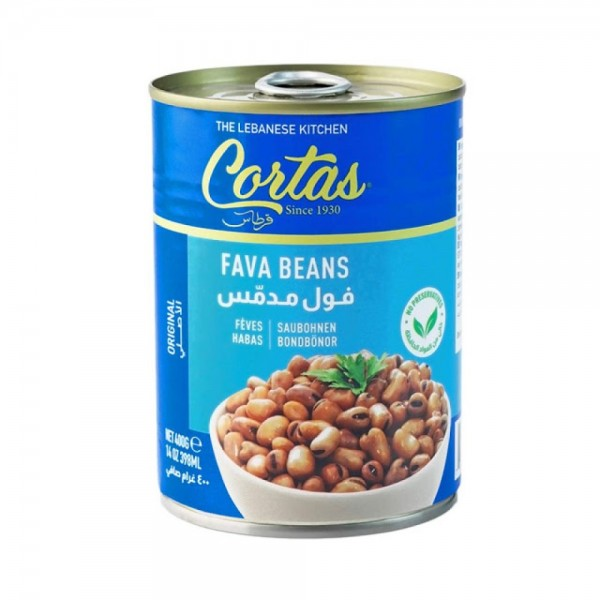 Cortas Fava Beans 400g 524472-V001 by Cortas Food
