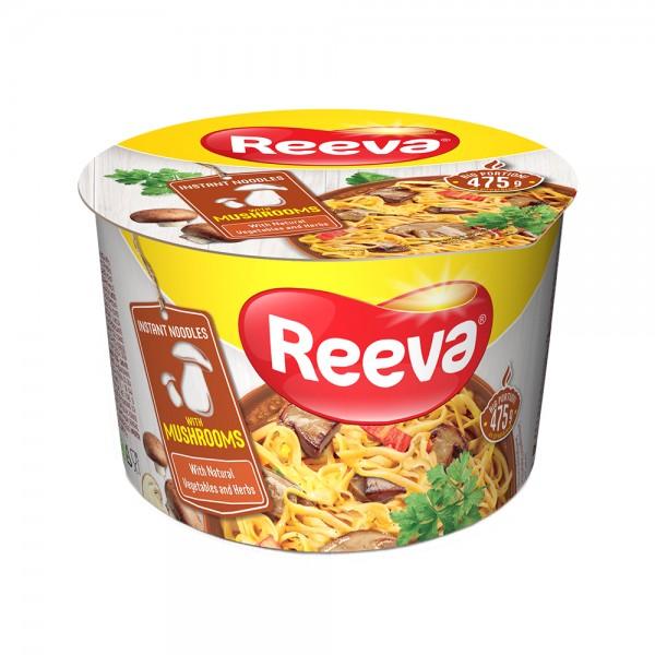 Reeva, Mushroom Noodles Cup 75g 524720-V001 by Reeva