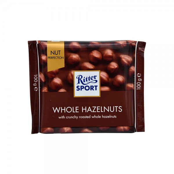 R.Sport Nut Perfection Milk Wholenut - 100G 524833-V001 by Ritter Sport