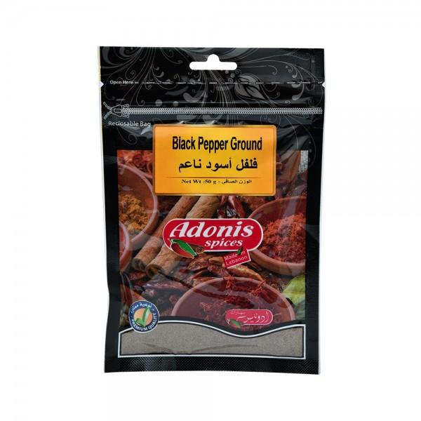 ADONIS  Black Pepper 50g 524866-V001 by Adonis Spices