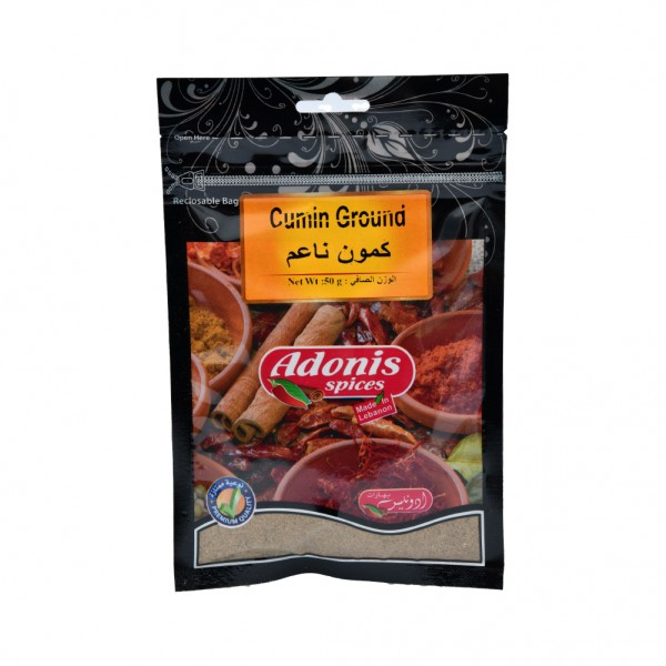 Adonis Cumin Ground  - 50G 524867-V001 by Adonis Spices