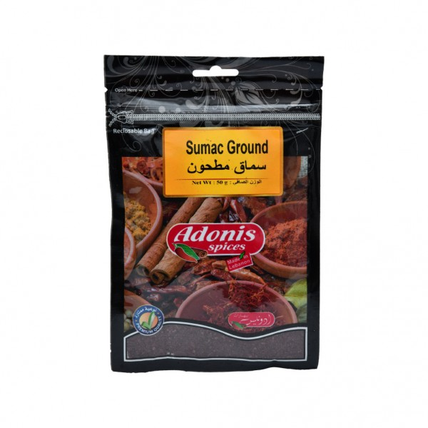 Adonis Sumac  - 50G 524870-V001 by Adonis Spices