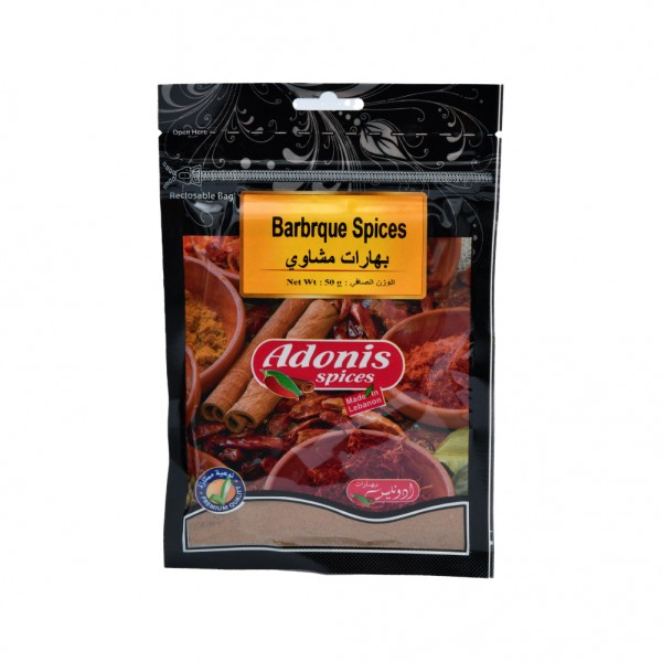 Adonis Barbeque Spices  - 50G 524884-V001 by Adonis Spices