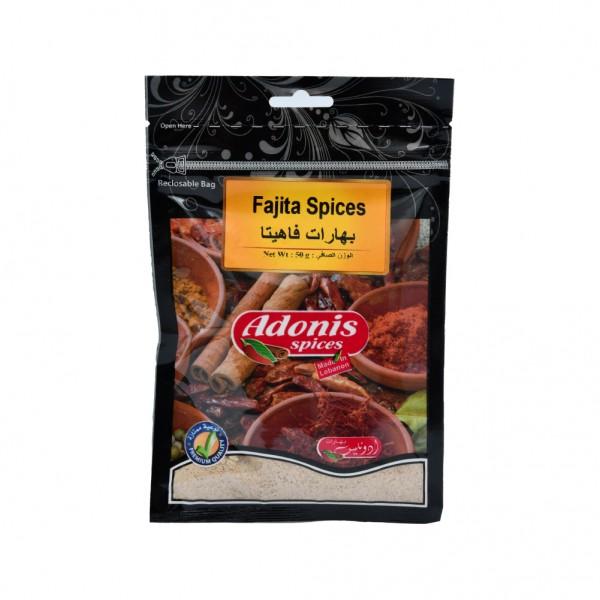 Adonis Fajita Spices  - 50G 524886-V001 by Adonis Spices