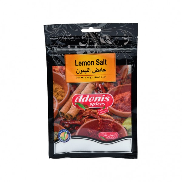 Adonis Citric Acid  - 75G 524890-V001 by Adonis Spices