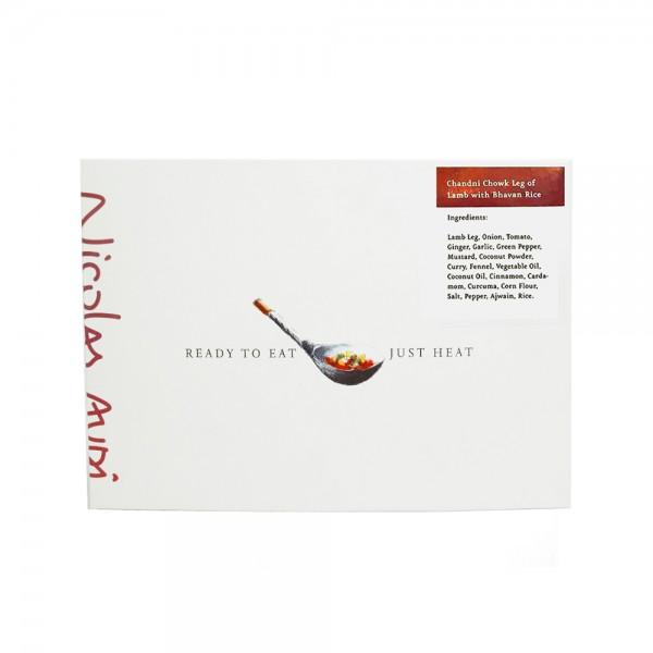 CHANDNI CHOWK LEG LAMB+BHAVAN RICE 524949-V001 by Nicolas Audi