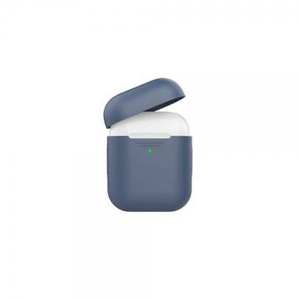 Promate Slim Silicon Case For Apple Airpods Navy - 1Pc 525229-V001 by Promate