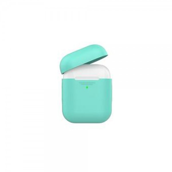Promate Slim Silicon Case For Apple Airpods Green - 1Pc 525233-V001 by Promate